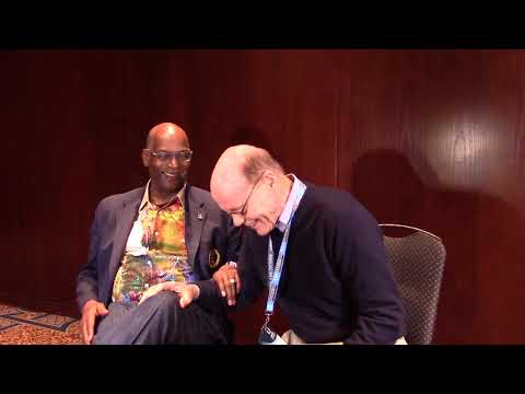Bob Beamon Interview: Long jump world-record setter with NSAF's Larry Rawson