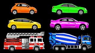 Cars & Trucks for Kids   Learn Car & Truck Names & Sounds   Fun & Educational Organic Learning