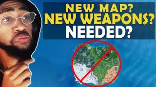 FORTNITE NEW MAP? IS IT NEEDED?