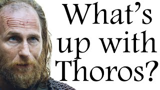 Red Wizard: what's up with Thoros?