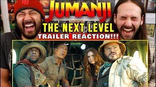 JUMANJI: THE NEXT LEVEL | TRAILER   REACTION!!! (Jumanji 3)