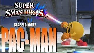 Super Smash Bros For Wii U - Classic Mode: Pac-Man