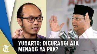 Tanggapi Prabowo soal Banyak Kecurangan di Pilpres, Yunarto Wijaya: Dicurangi Aja Menang Ya Pak?