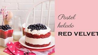 Pastel Helado de Red Velvet-MEGASILVITA{tienda y blog}