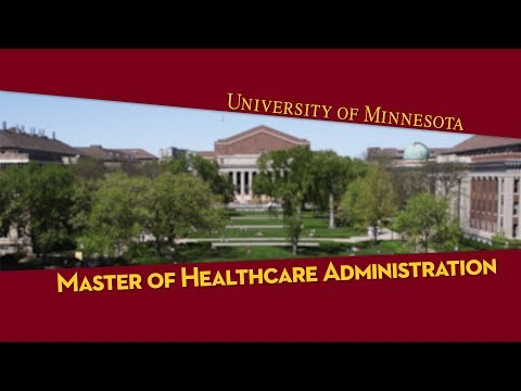 Master of Healthcare Administration (MHA) - YouTube