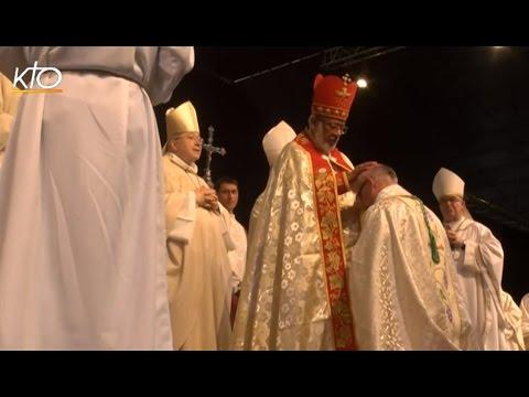 Ordination de Mgr Colomb, évêque de la Rochelle et Saintes