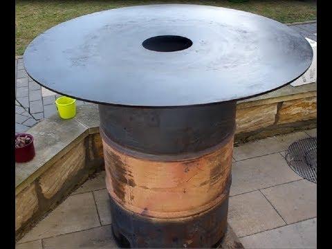 Feuerplatte / Feuertonne Selbstbau, Bauanleitung - die sachsengriller