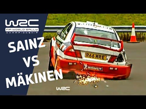 WRC History: Carlos Sainz versus Tommi Mäkinen 1998 WRC Title Fight Cliffhanger!