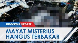 Mobil Sedan di Maros Terbakar, Warga Kaget Temukan Mayat Misterius Tertelungkup, Kondisinya Hangus