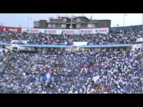 """""""La Sangre Azul ooh no se escucha nada y dale dale ooh vs wilas"""" Barra: La Sangre Azul • Club: Cruz Azul"""