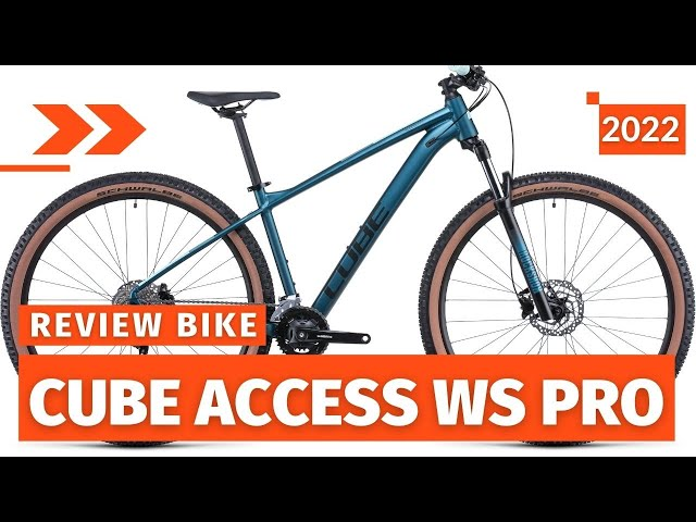 Видео Велосипед Cube Access WS Pro (Rubymetal'n'Pink)