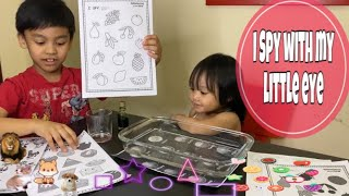I Spy With My Little Eye | Educational Game | I Spy Game
