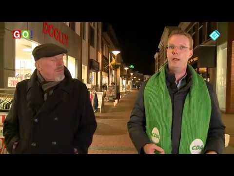 Politieke straatwandeling met Tim van Bostelen - RTV GO! Omroep Gemeente Oldambt