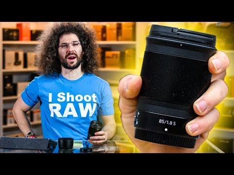 External Review Video b-_CLbRYSH0 for Nikon NIKKOR Z 85MM F/1.8 S Lens