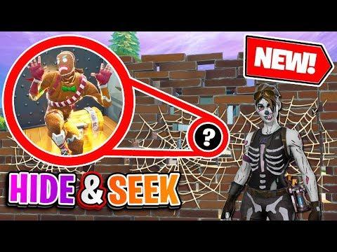 Halloween *NEW* Custom Game - Hide & Seek GRAPPLER in Fortnite