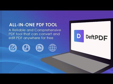 DeftPDF vs  PDF24 Online Tools Comparison