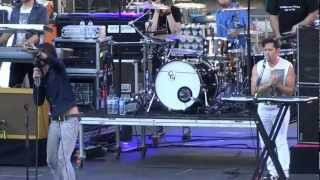 """The All-American Rejects """"Kids in the street"""" @Nimes 17/07/12"""