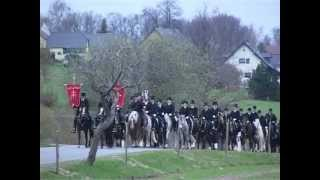Křižer -- Osterreiter --- křižerski procesion z baćonja / Osterreiterprozession