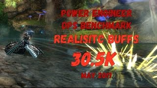 Guild Wars 2: [LN] Power Engineer DPS Benchmark - Realistic Buffs (8 Condis) - 30,5k | 16.05.2017