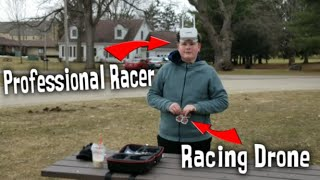 Flying an FPV Racing Drone for the First time (With PROFESSIONAL Racer)
