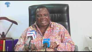 Atwoli speaks on the 3,000 acres reclaimed Nairobi Sewerage land
