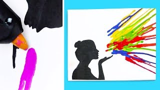 THE 17 BEST CRAYON DIYs YOU'VE EVER SEEN - Video Youtube