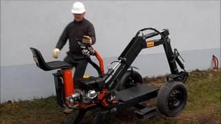 JMEKA Spider2, Mini Digger Excavator, DCSK, Dcslovakia.sk