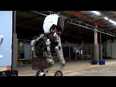 Google's new robot has wheels for feet