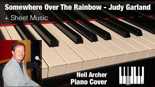 Somewhere Over The Rainbow - Judy Garland / Eva Cassidy - Piano Cover