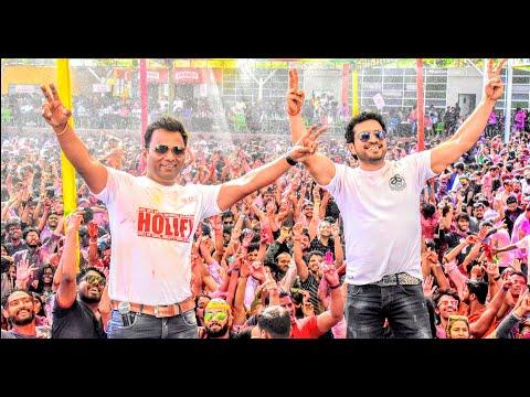 Anchor Sanjay Hosting Biggest Holi of India