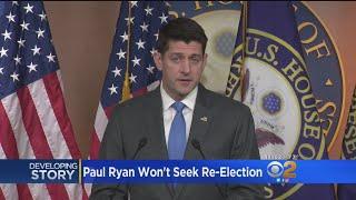 Paul Ryan Won't Seek Re-Election, Joins Growing GOP Exodus