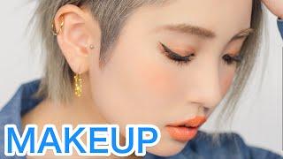 Latest Japanese MAKEUP TREND TUTORIAL by Kawaii model Marin Matsuzaki | 松崎茉鈴のトレンドギャルメイク講座 - Video Youtube