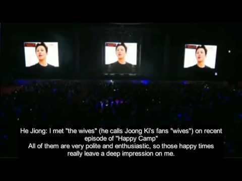 [ENGSUB] 160617 Song Joong Ki Fanmeeting in Chengdu - Video Messages Cut