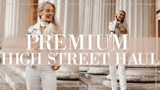 PREMIUM HIGHSTREET HAUL // Spring 2018 // Fashion Mumblr