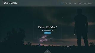 Musician Website Theme: Encore
