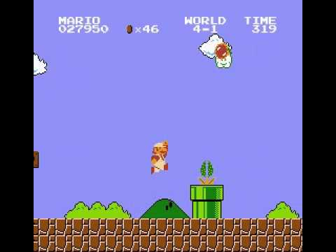 Super Mario Bros  Unused Spiny Egg Behavior - игровое видео смотреть