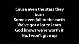 Jason Mraz - I won't give up lyrics - YouTube