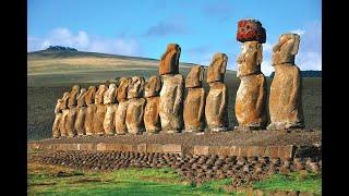 Megalityczne posągi Moai z Rapa Nui – nagranie w j.rosyjskim