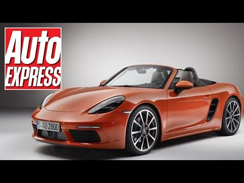 New Porsche 718 Boxster gets new look and 2.0 turbo power