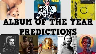 Album Of The Year Nomination PREDICTIONS | 61st Annual Grammy Awards