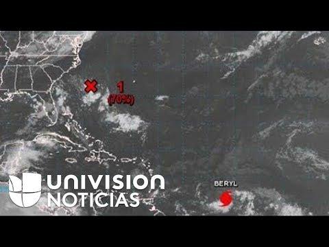 Fuertes vientos y lluvias en el Caribe por Beryl, el primer huracán de la temporada en el Atlántico
