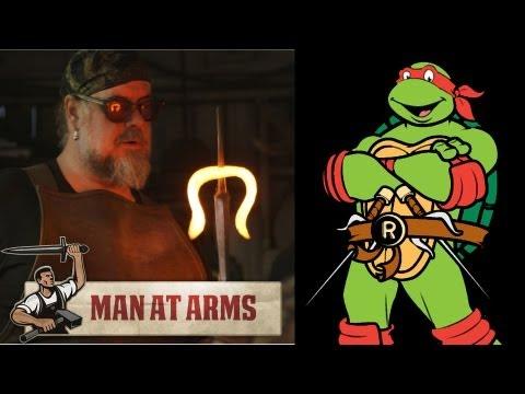 Building Raphael's Sais (Teenage Mutant Ninja Turtles)