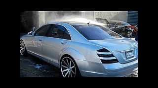 "Mercedes Benz S550 22"" XO Wheels @ Cartel Customs 1080p HD Swirve Productions"