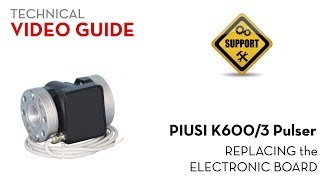 Расходомер Piusi K600/3