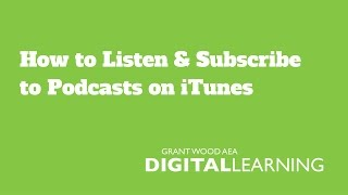 How to Listen & Subscribe to Podcasts on iTunes for Mac or PC