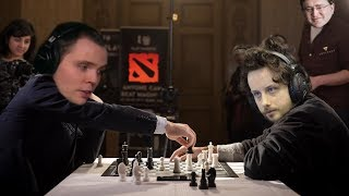 Two Dota Chess Grandmasters Battle It Out