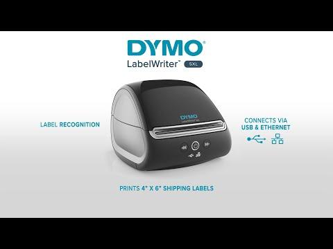 Imprimanta termica etichete DYMO LabelWriter 5XL, senzor recunoastere etichete, aparat de etichetat, priza UK 2112725