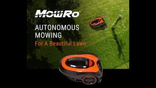 Watch MowRo by Redback RM18 — Easy Safe Fully Autonomous Lawnmower