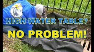 What Can You Do When You Have a High Water Table?
