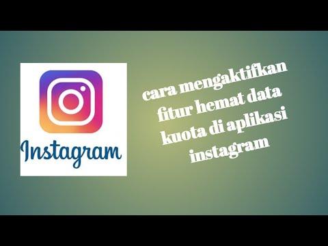 Cara mengaktifkan fitur hemat data kuota khusus aplikasi instagram